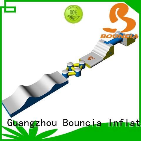 Bouncia Brand trampoline blob climbing custom small inflatable water park