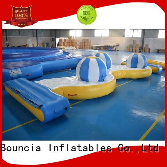 lake party inflatable factory Bouncia manufacture