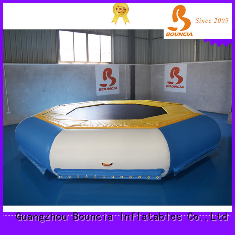 Bouncia certificated water inflatables for lakes Suppliers for adults