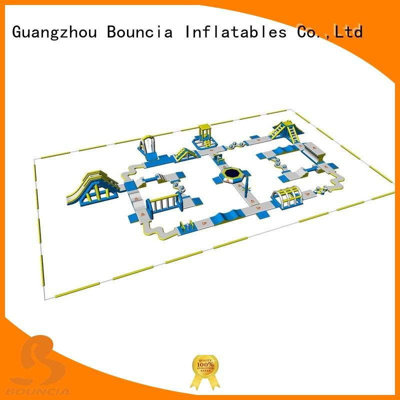 inflatable float sports Bouncia Brand blow up water park