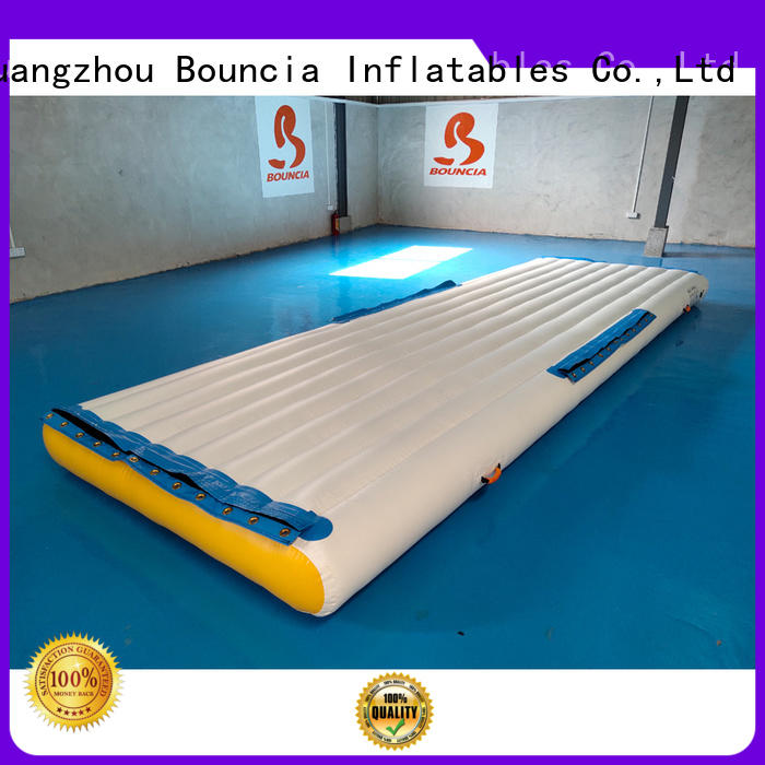 inflatable factory bridge guard inflatable water games exciting Bouncia Brand