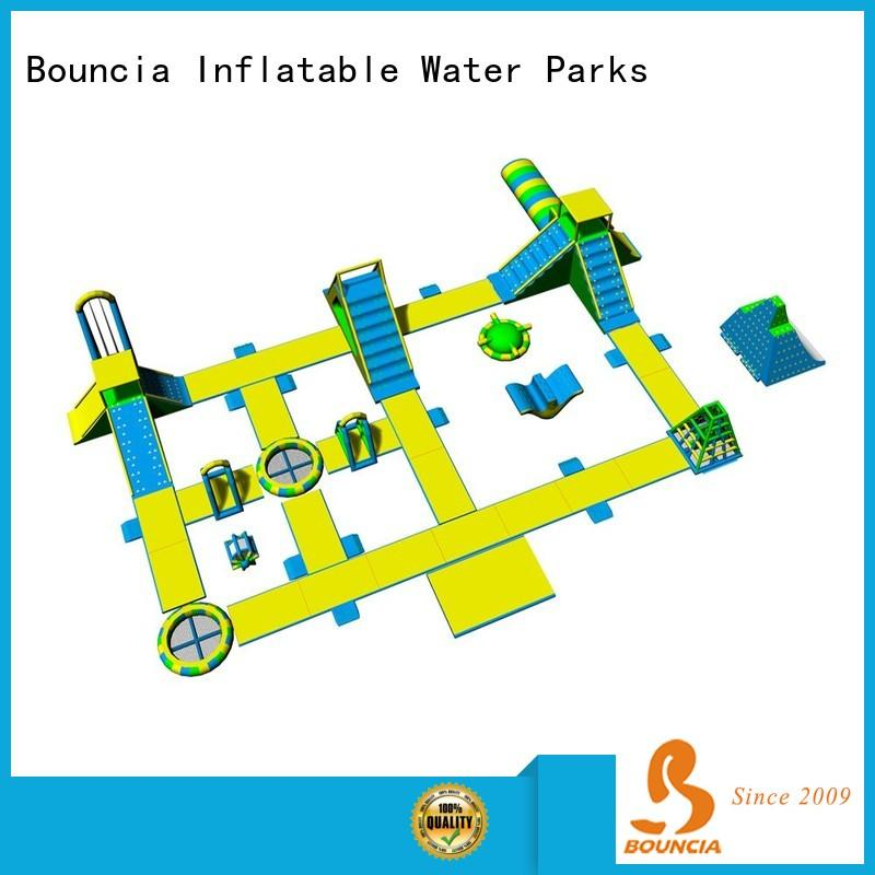 Bouncia pvc largest inflatable water park company for adults