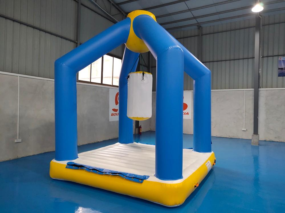 Bouncia certificated blow up obstacle course for business for outdoors-1