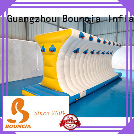 Bouncia floating inflatable water course company for kids