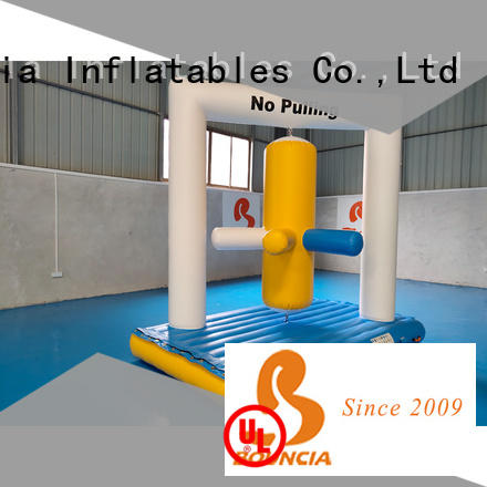 Bouncia beam inflatable water park china manufacturers for kids