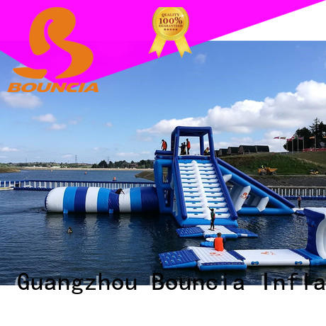 Bouncia inflatable water slide for lake Supply for kids