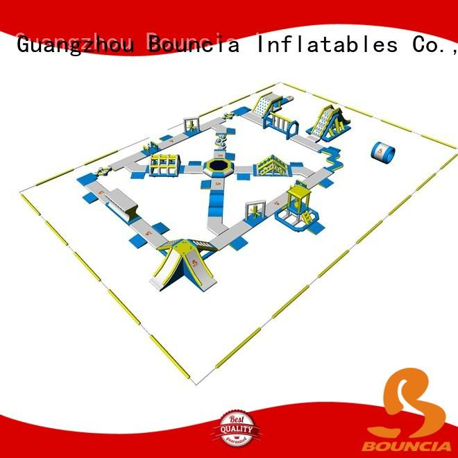 Hot popular inflatable float obstacle Bouncia Brand