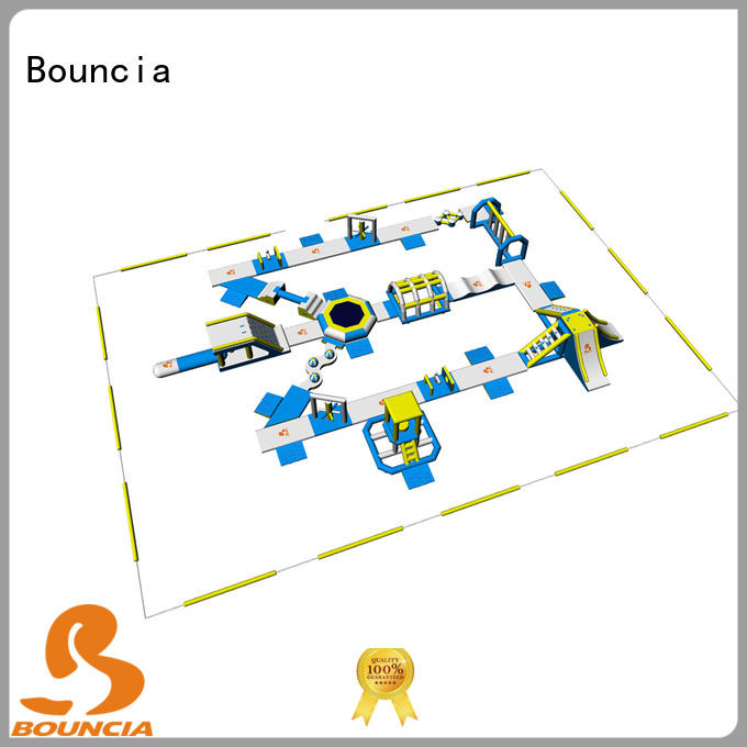 bouncia inflatable water play supplier for lake Bouncia