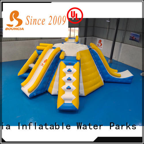 Latest inflatable lake floats climbing for business for kids
