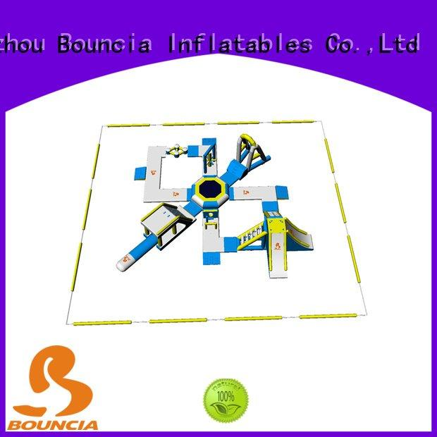 open inflatable float Bouncia Brand