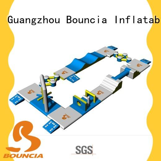 floating inflatable amusement park slide manufacturer for outdoors