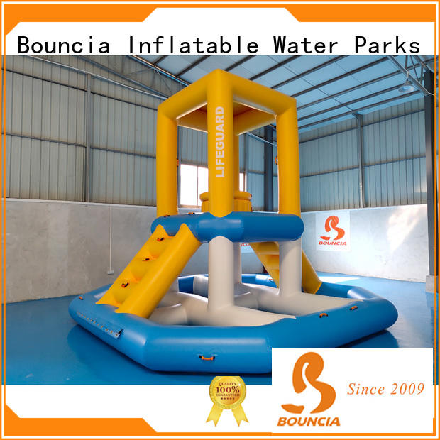 Bouncia pvc blow up slide factory for outdoors