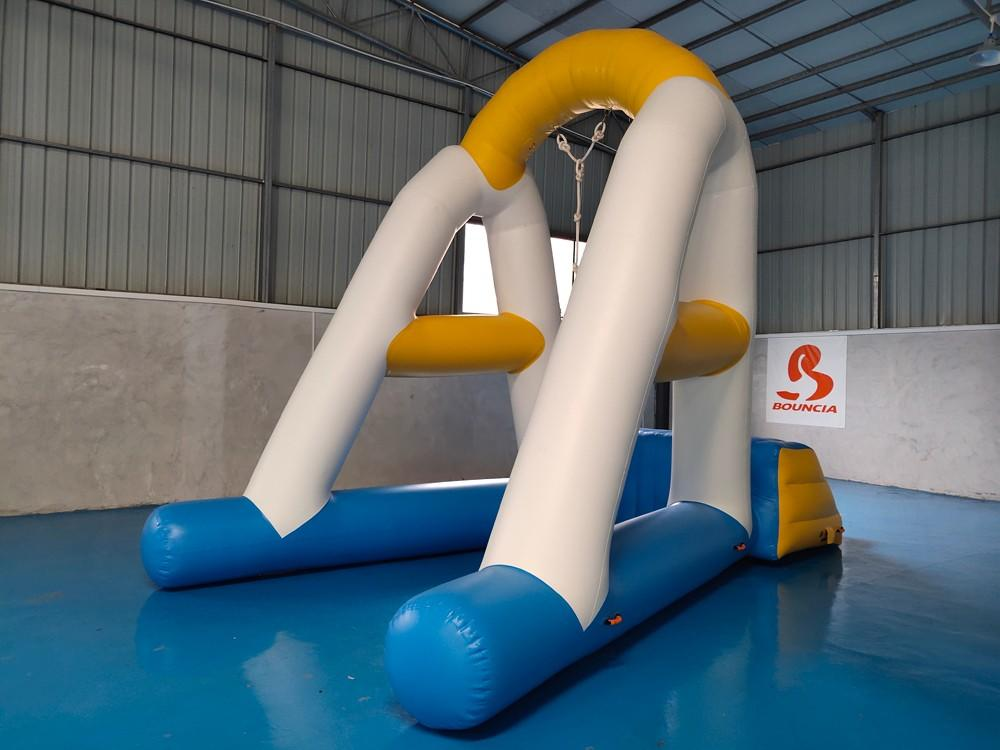 Bouncia one station inflatable obstacles Suppliers for pool-3