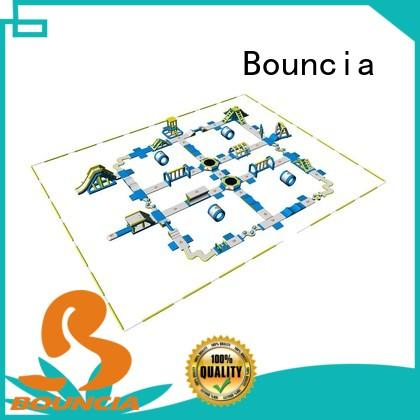 Bouncia equipment inflatable floating water park directly sale for lake