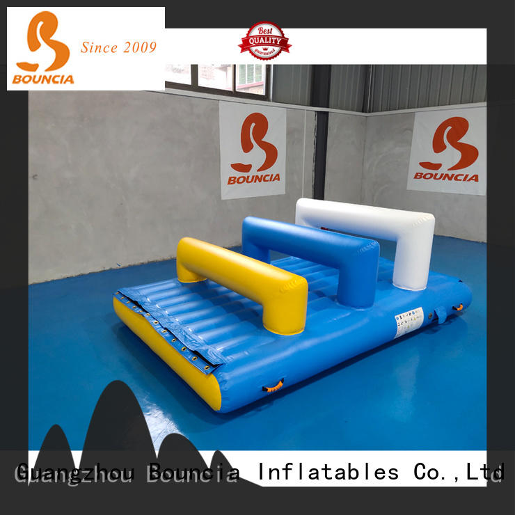 Bouncia guard tower inflatable water park games Supply for outdoors