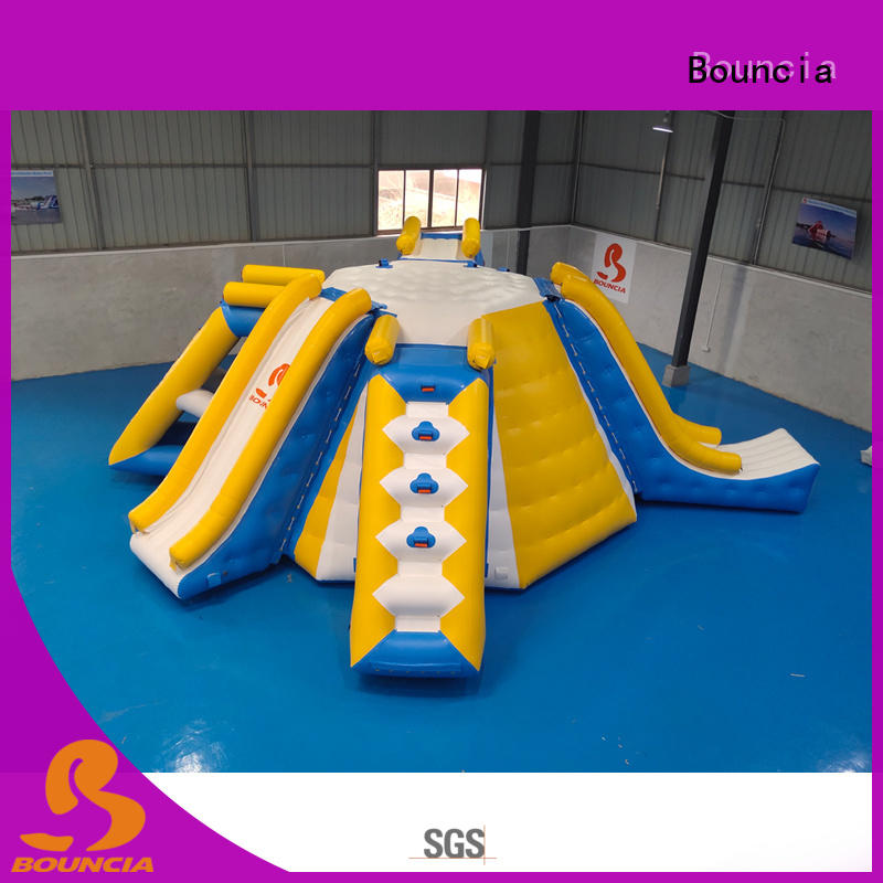 Bouncia guard tower inflatable obstacles Supply for kids