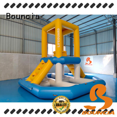 Bouncia durable water park equipment suppliers factory for pool