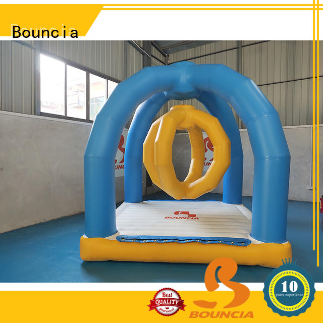 Bouncia mini games inflatable water toys manufacturers for outdoors