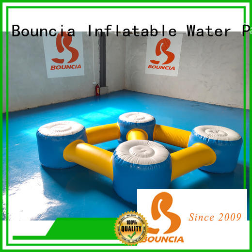 Bouncia certificated floating water park for sale customized for adults