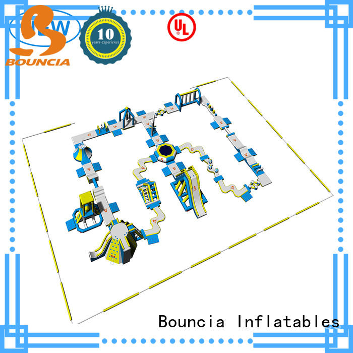 Bouncia equipment outdoor inflatable water park factory price for outdoors