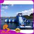 Bouncia bouncia aqua park equipment customized for outdoors
