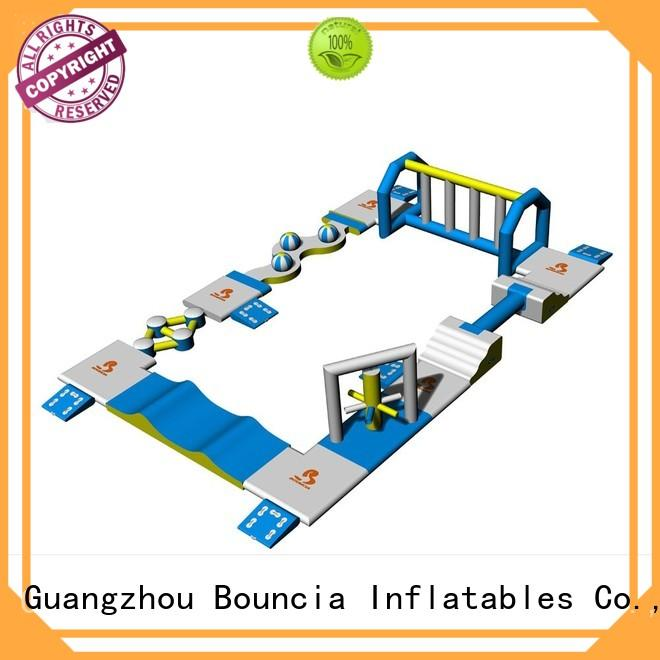 small inflatable water park tuv obstcale double inflatable floating water park manufacture