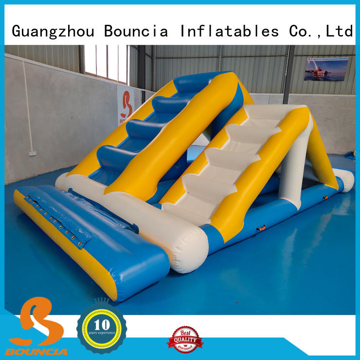 Bouncia floating inflatable water park equipment Supply for kids