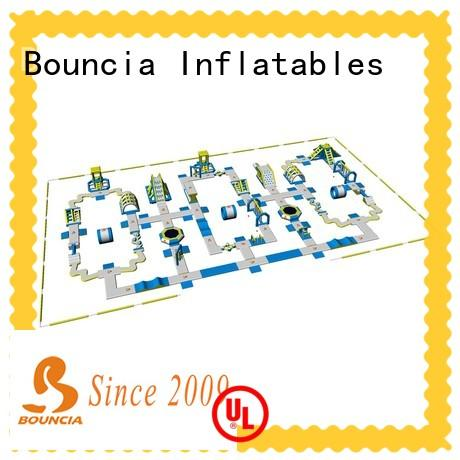 Bouncia tarpaulin giant inflatable water slide customized for adults
