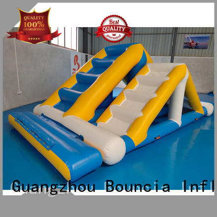 trampoline durable aquapark OEM inflatable water games Bouncia