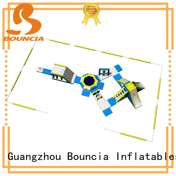Bouncia big inflatable water fun wholesale for outdoors