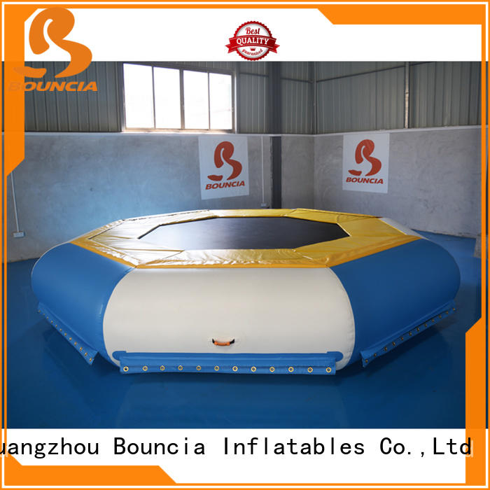 Bouncia durable best indoor water parks factory for outdoors