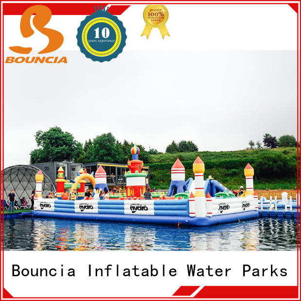 Bouncia High-quality water inflatable world Factory price for student