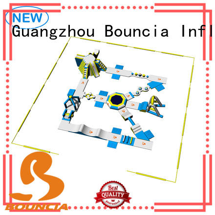 inflatable float floating bounica aquapark Bouncia Brand blow up water park
