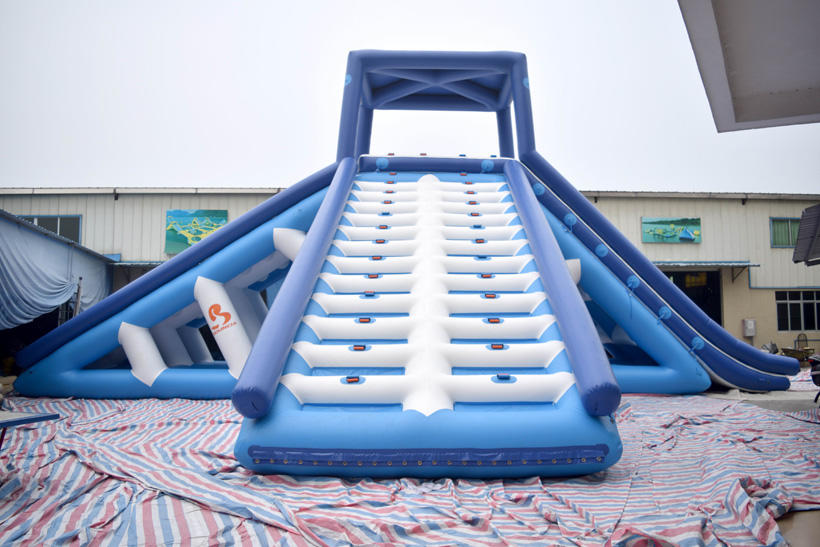 Bouncia Top inflatable backyard water park company for pool-2