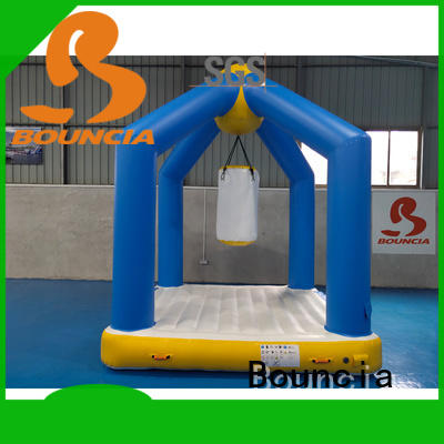 Bouncia trampoline outdoor water games manufacturers for outdoors