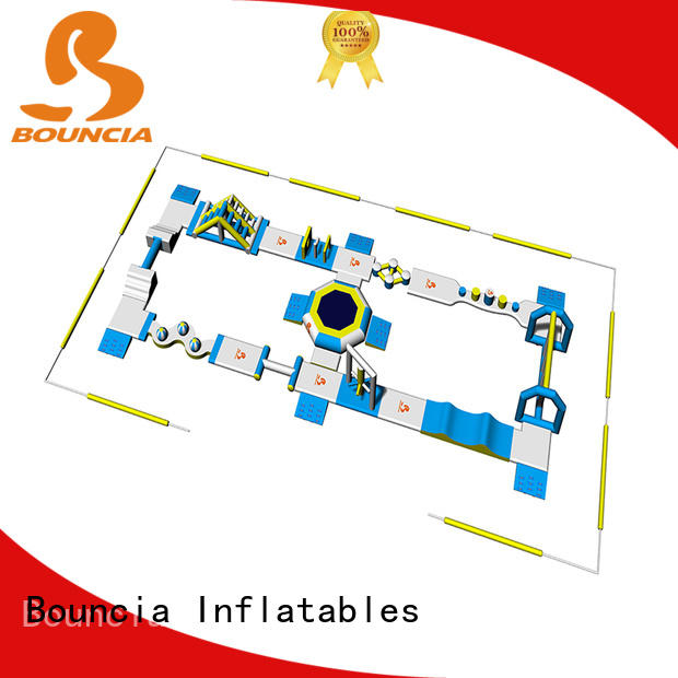 Bouncia games inflatable water slide park factory price for outdoors
