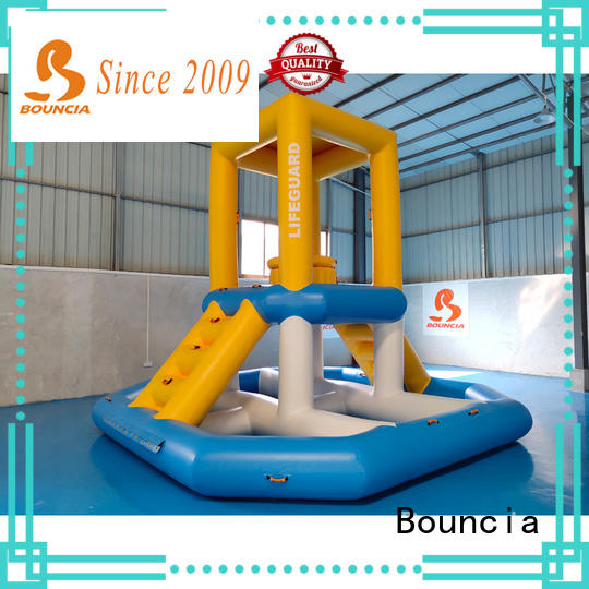 stable inflatable water slide park toys factory for kids
