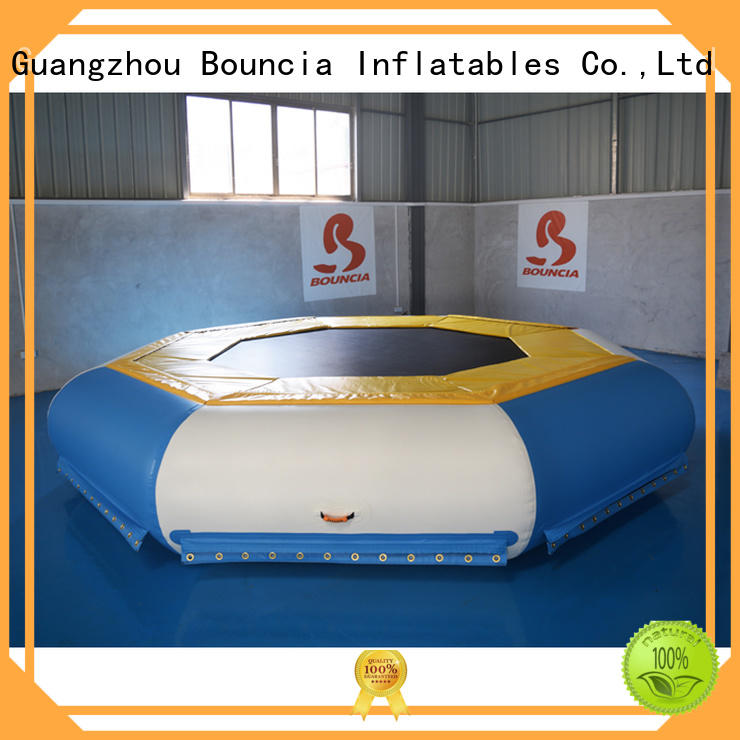 inflatable factory wall hot sale inflatable water games tarpaulin Bouncia Brand