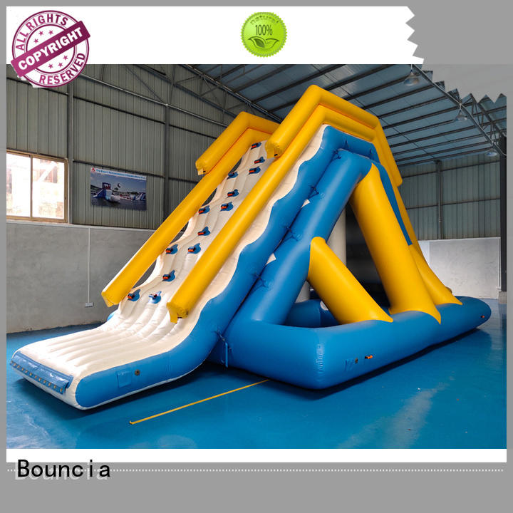 Hot inflatable factory tower Bouncia Brand