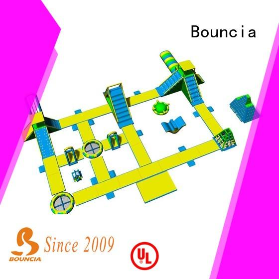 Bouncia harrison giant inflatable water obstacle course for lake