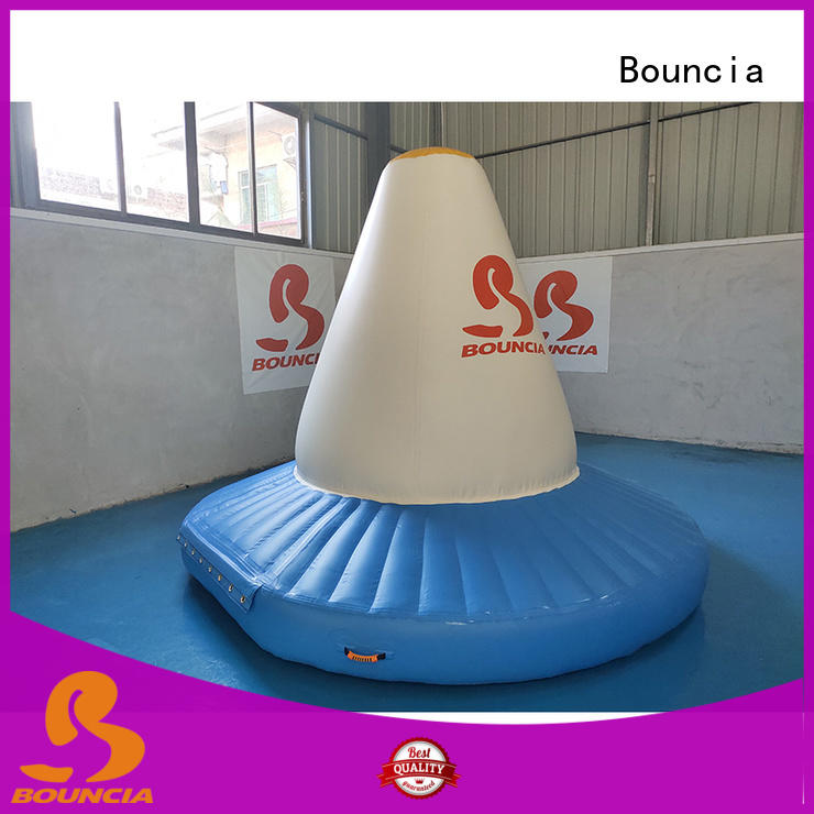 Bouncia climbing water inflatables for lakes for business for outdoors