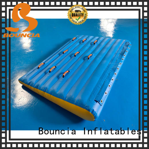 Bouncia pvc commercial inflatable water park series for pool
