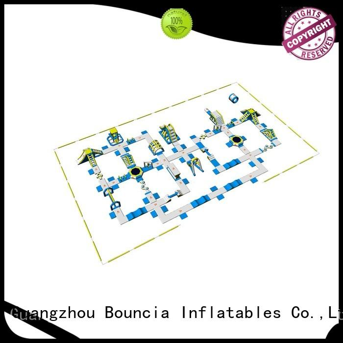 durable guard inflatable water park for adults jump Bouncia company