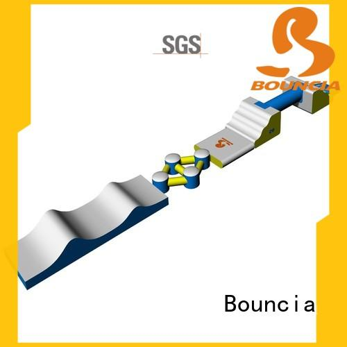 Bouncia course inflatable water fun directly sale for lake
