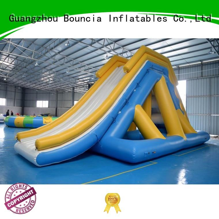 inflatable factory play giant inflatable water games Bouncia Brand