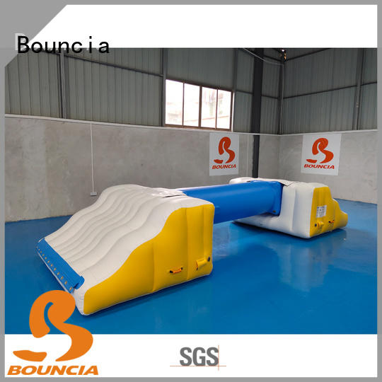 Bouncia certificated commercial inflatable water slides course for adults