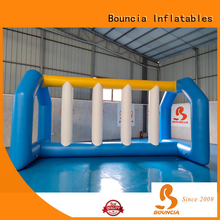Bouncia awesome inflatable water obstacle course customized for pool