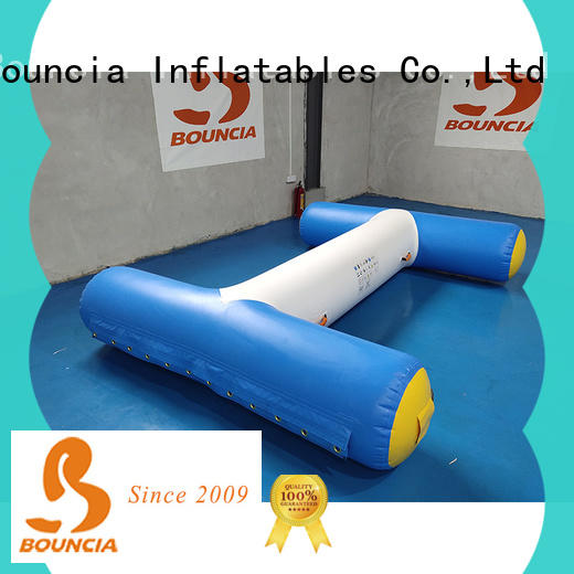 Bouncia jumping platform floating water playground series for kids