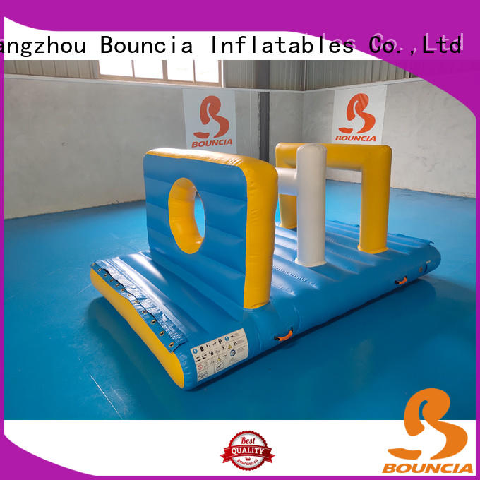 Bouncia double water inflatables for lakes directly sale for adults