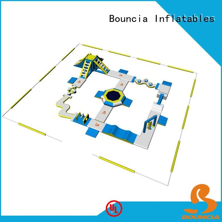 Bouncia tuv inflatable water slide for sale wholesale for outdoors